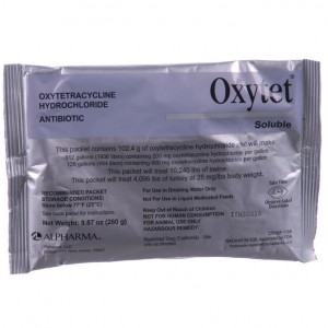 Oxytet soluble 280 gm